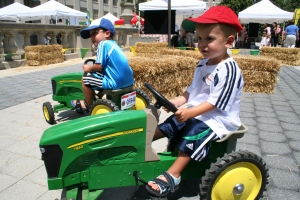 John Deere Tractor Drivers at COSI