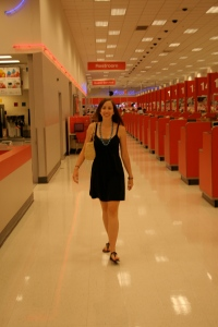 Shopping at Polaris Target