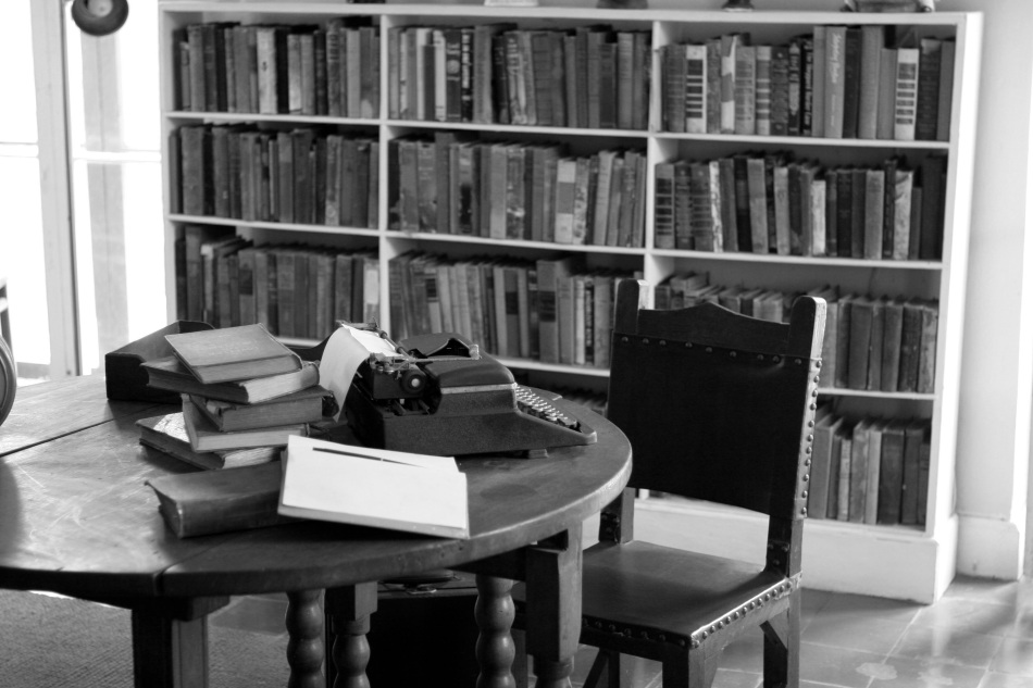 Study in Ernest Hemingway's Home