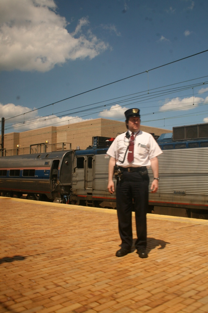 "Conductor on the ""Pennsylvanian"""