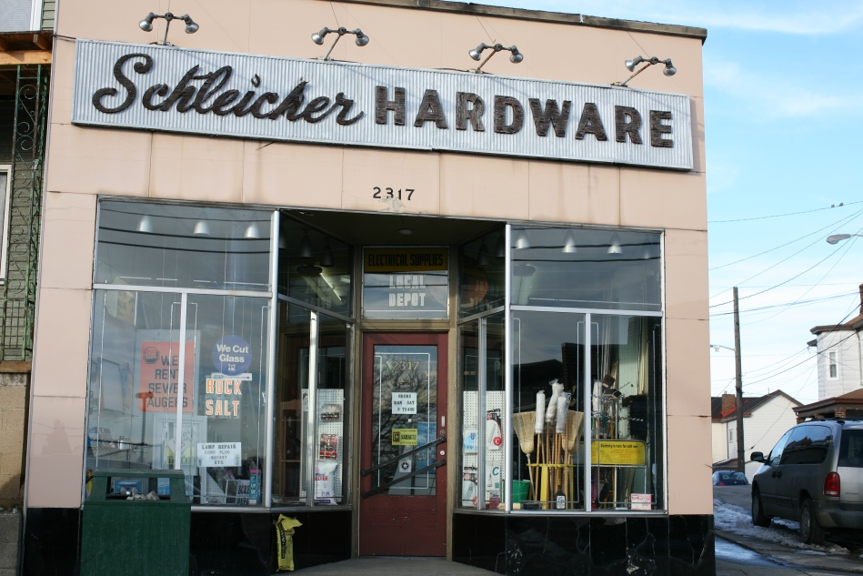 Memories of Childhood   The hardware store.