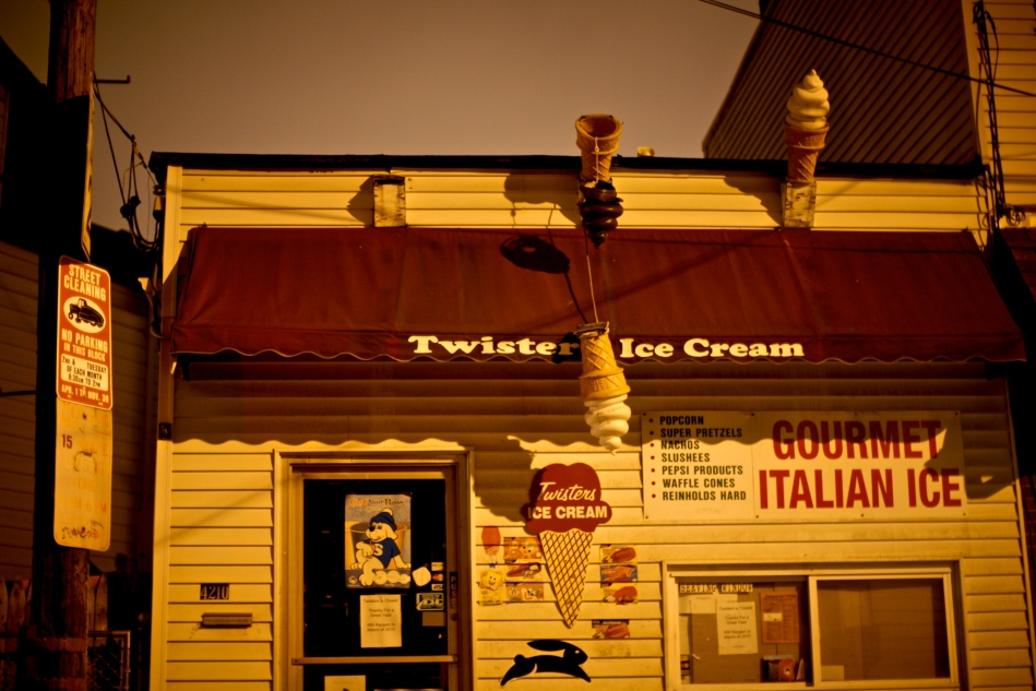 Twisters Ice Cream on Main Street