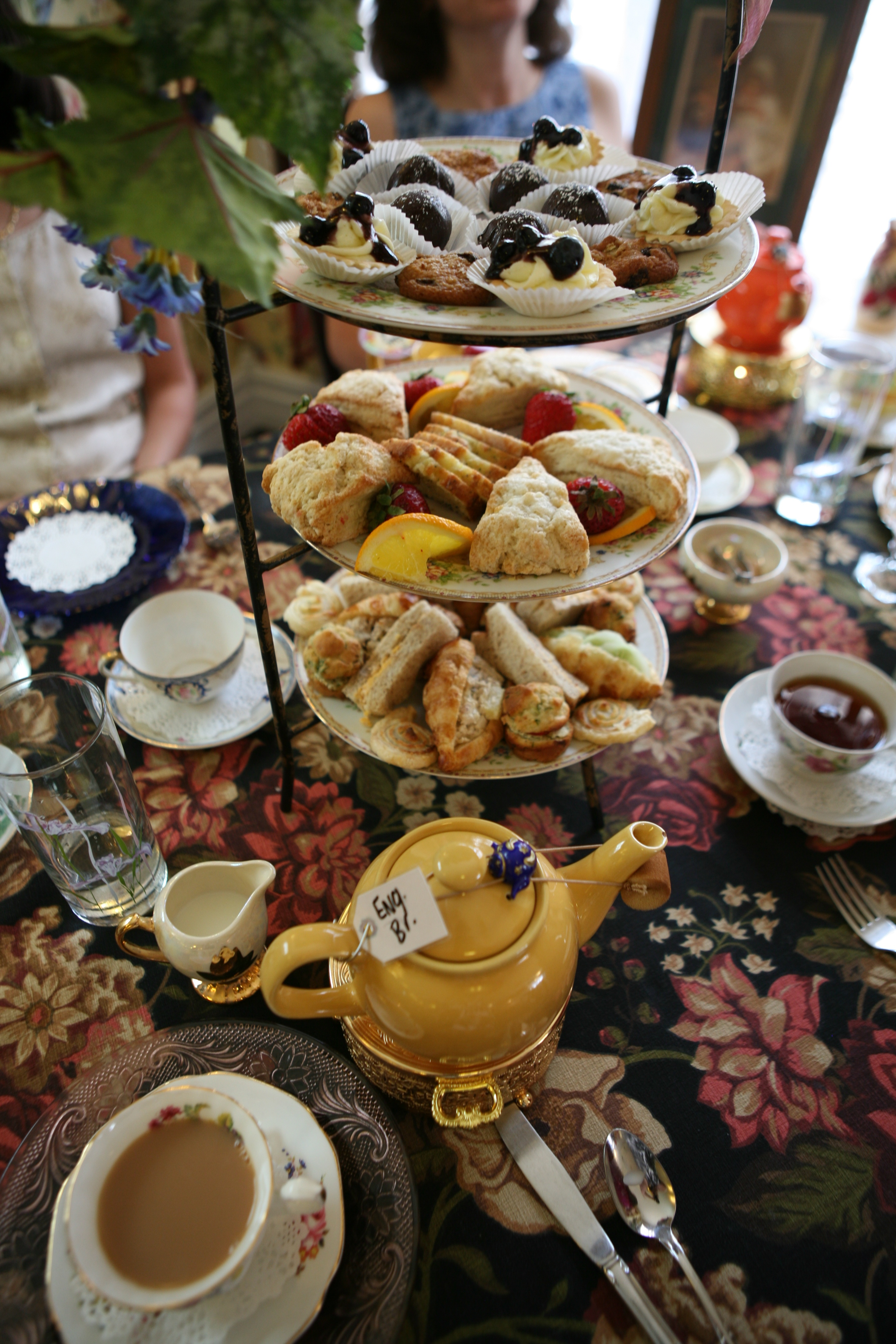If ... & Pot of English Breakfast u0026 Tea Treats u2013 Ruth E. Hendricks Photography