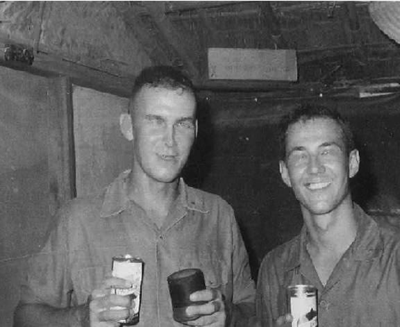 Don Anderson and Ed Kichi  Sept 1966