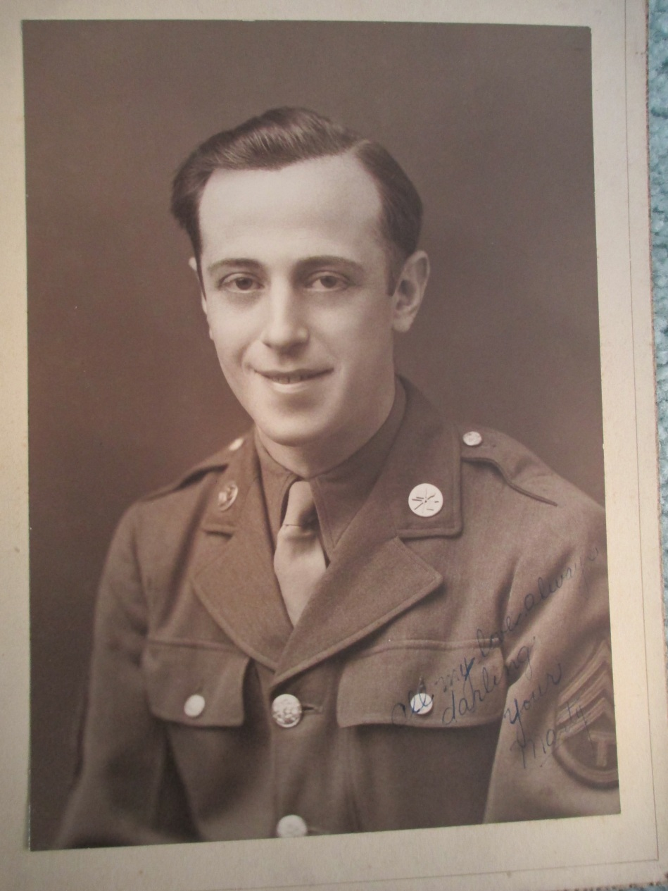 Martin H Cooper veteran World War II - European Theater -