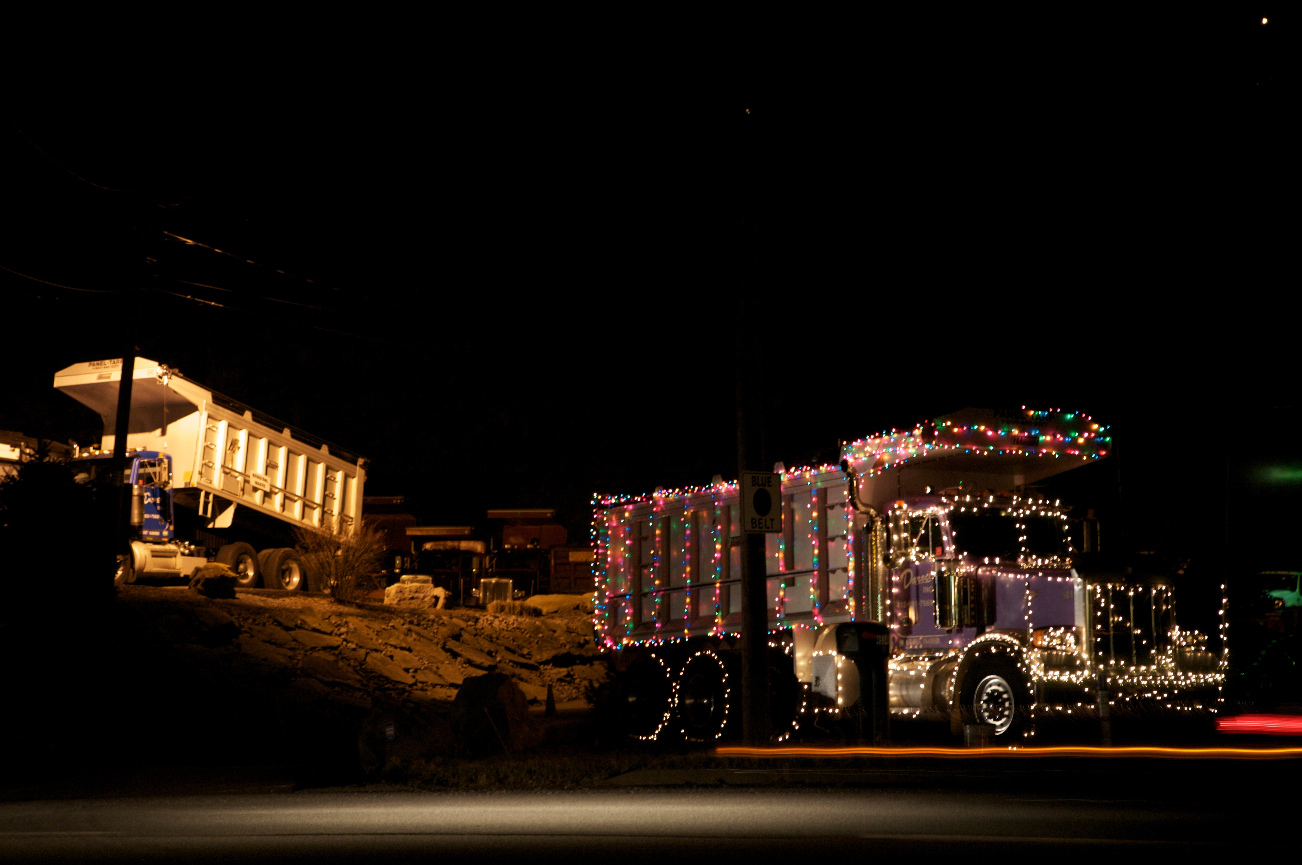 Christmas Truck Decorations Decorate Your Dump Truck For
