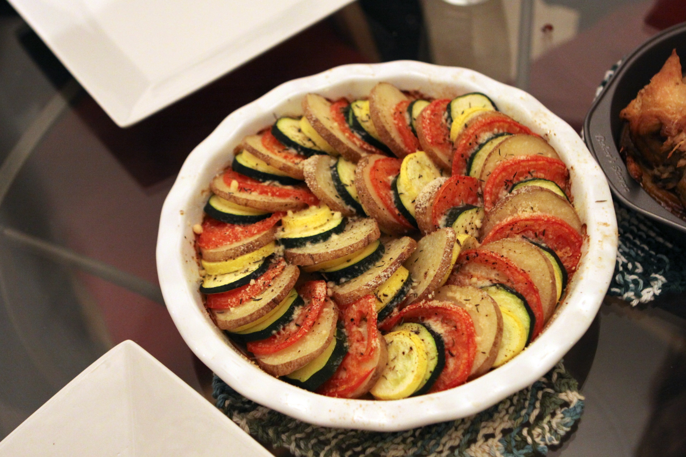 ... Barefoot Contessa's Vegetable Tian | Ruth E Hendricks Photography