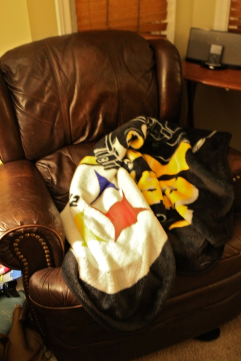 Steelers Blanket Chair