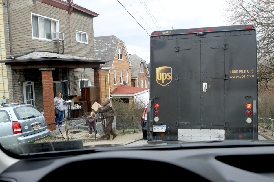 UPS truck 1