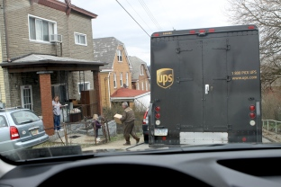 UPS truck 2