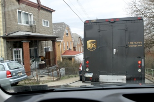 UPS truck 3