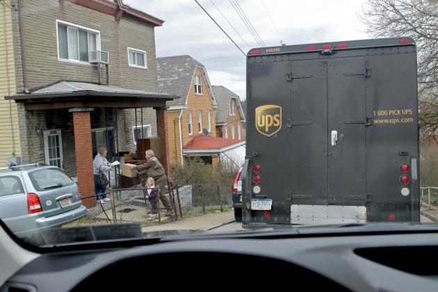 UPS truck 4