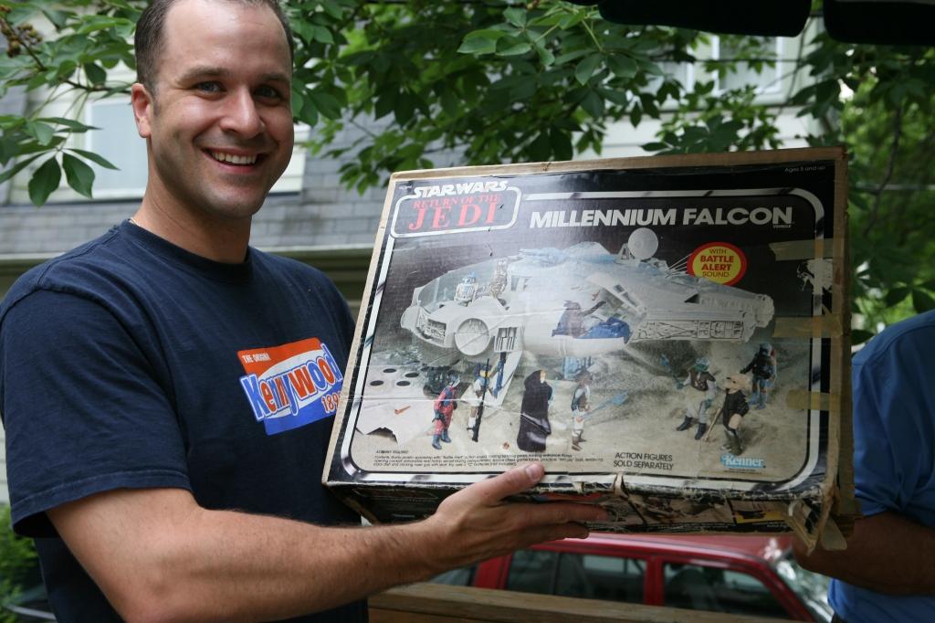 Millenium Falcon in Original Box