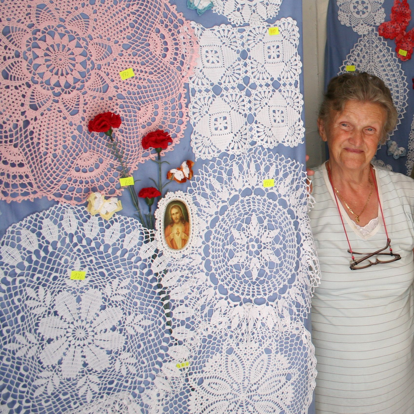 Crochet Work : Master Craftswoman of Crochet in Porec, Istria Ruth E Hendricks ...