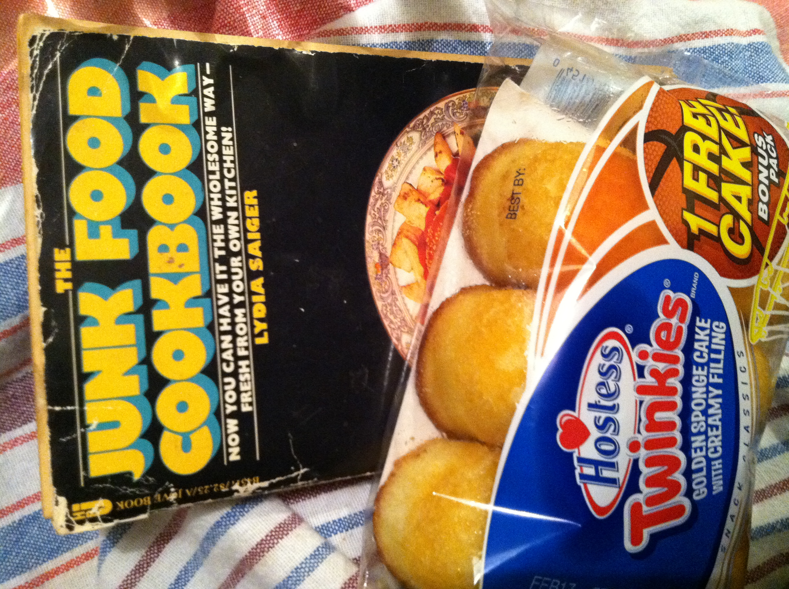 The junk food cookbook and a bonus pack of twinkies ruth e the junk food cookbook and a bonus pack of twinkies forumfinder Gallery