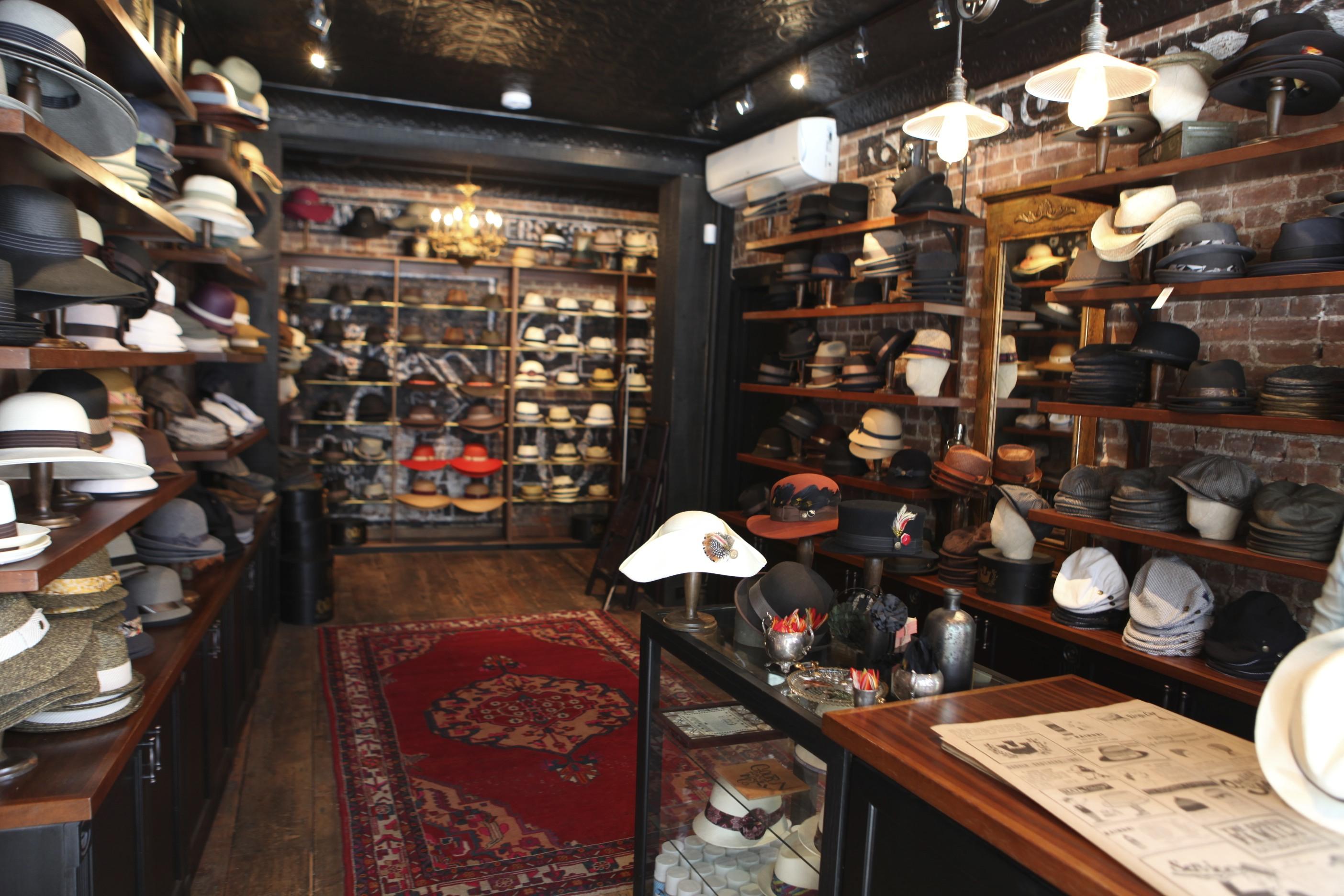 Bleecker Street Hat Shop Ruth E Hendricks Photography
