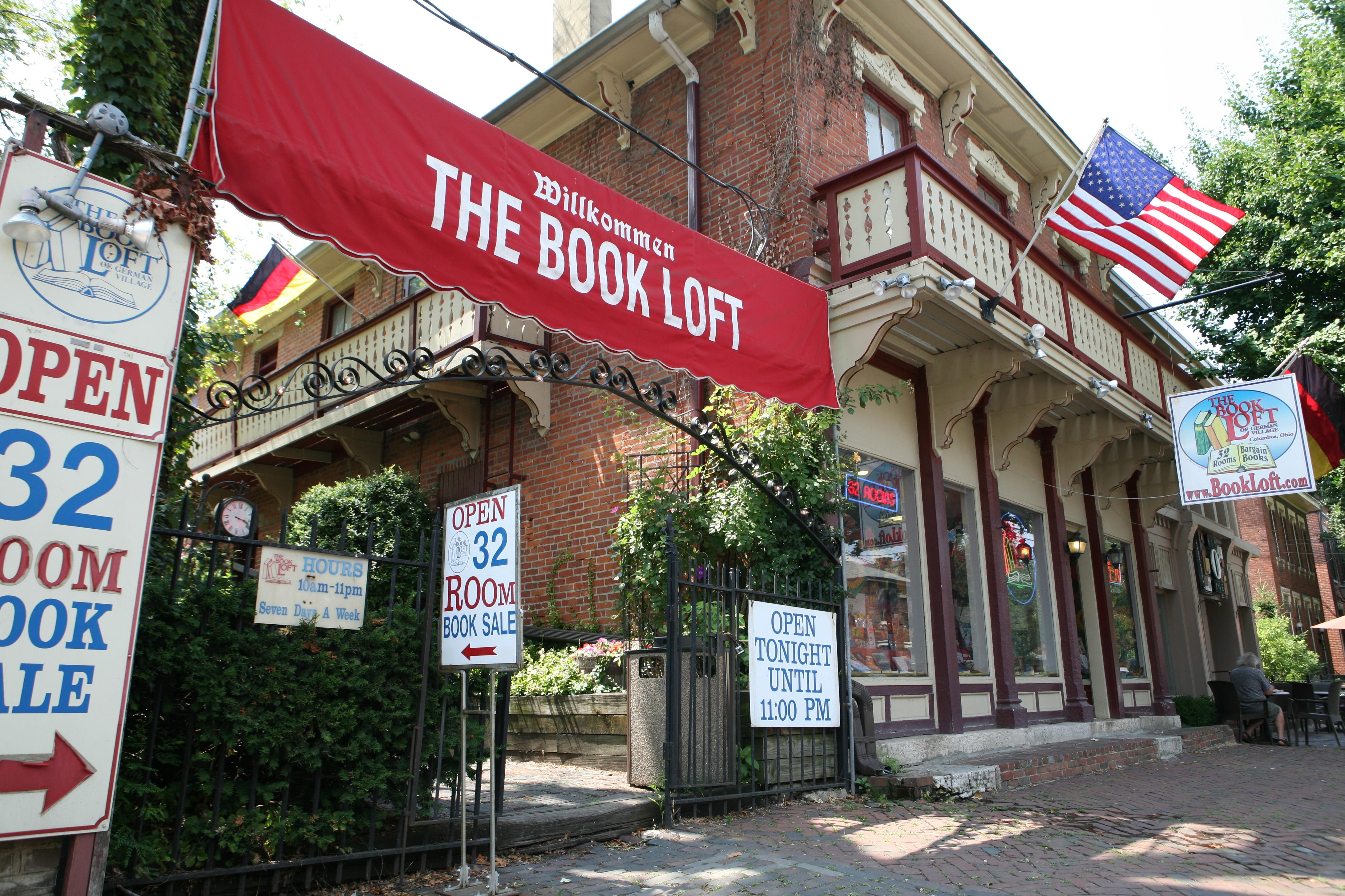 The Book Loft Of German Village Columbus Oh