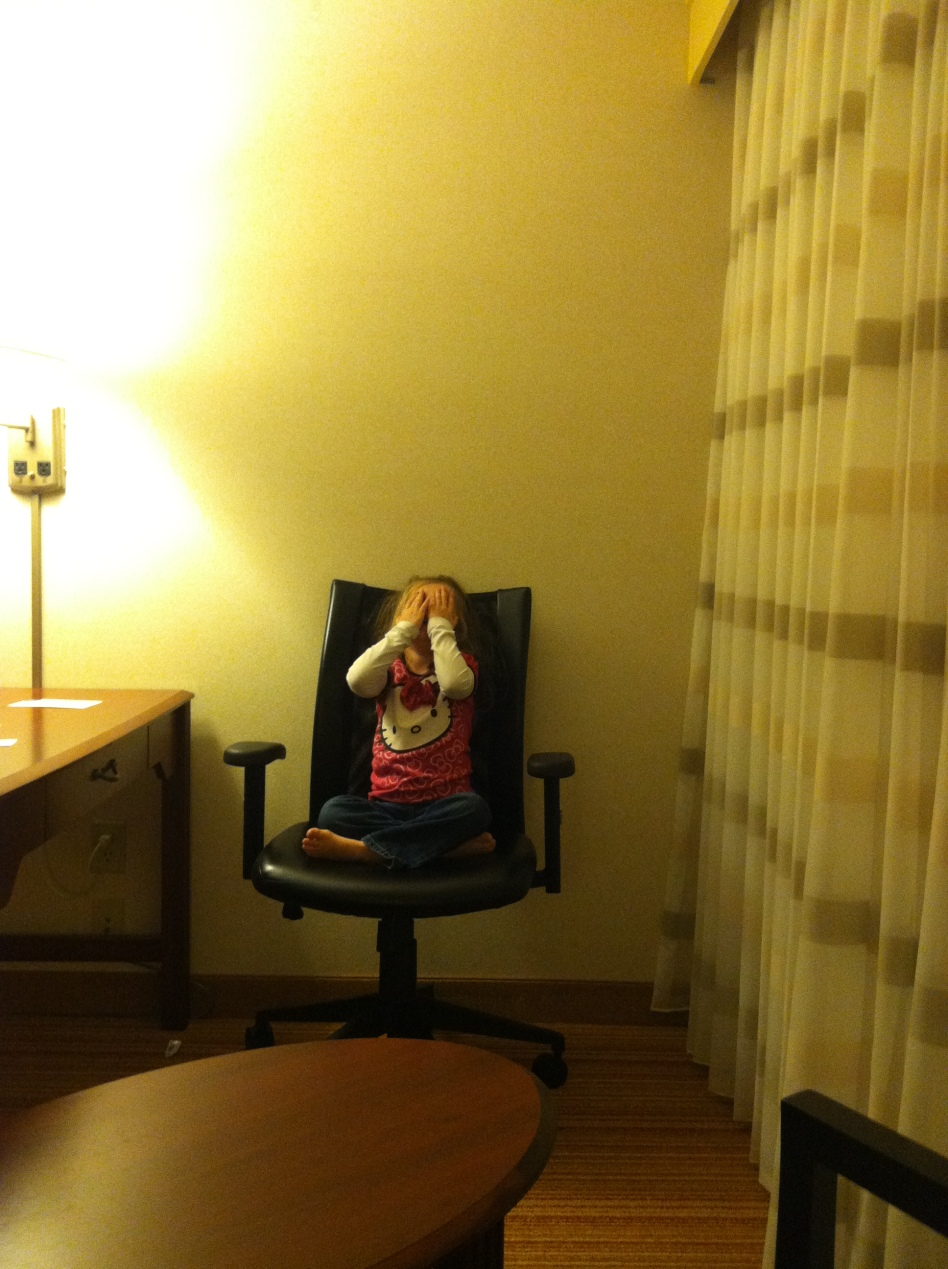 Hide-and-Seek in the Hotel Room