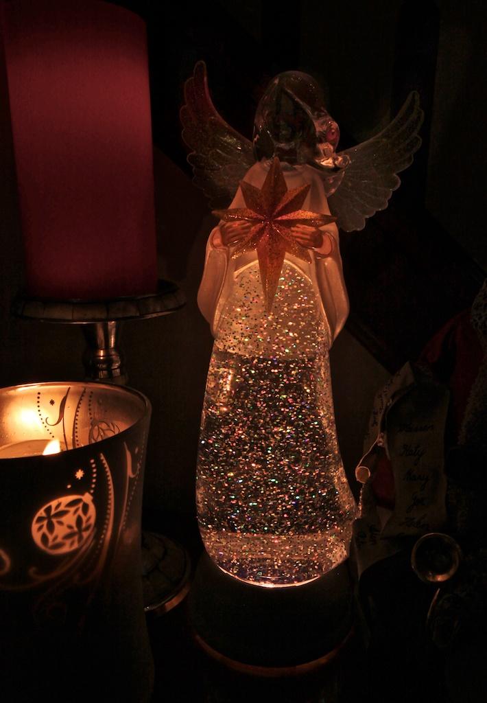 angel lava lamp