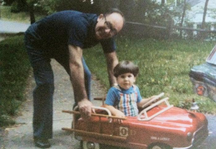 I took it long time ago. Mark & his Pop. RIP Donald J. McGrath, Sr. b.11-25-19 d.11-28-12