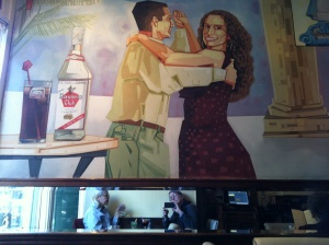 mary and me - at the Cuban Restaurant