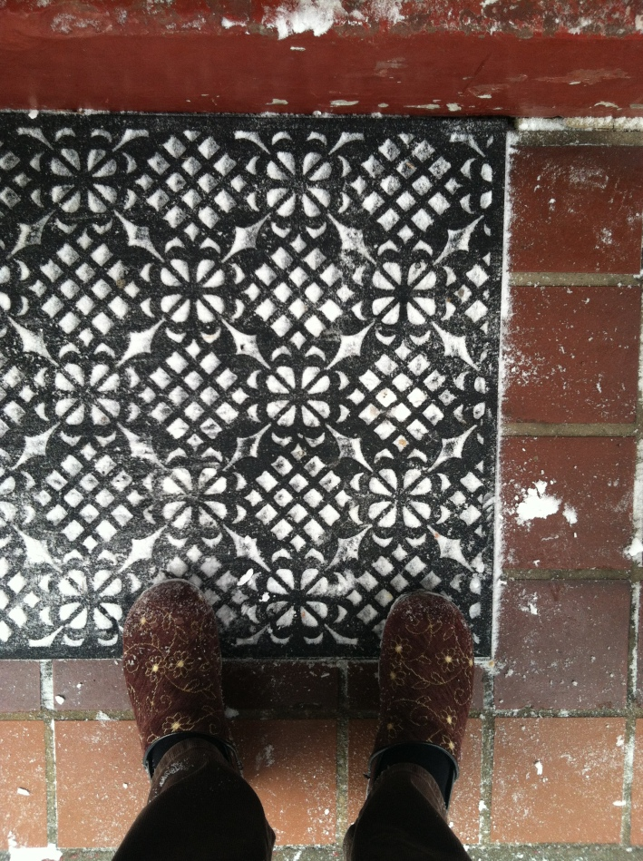 Snow in Doormat
