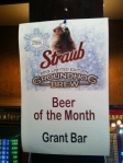 Groundhog Brew sign