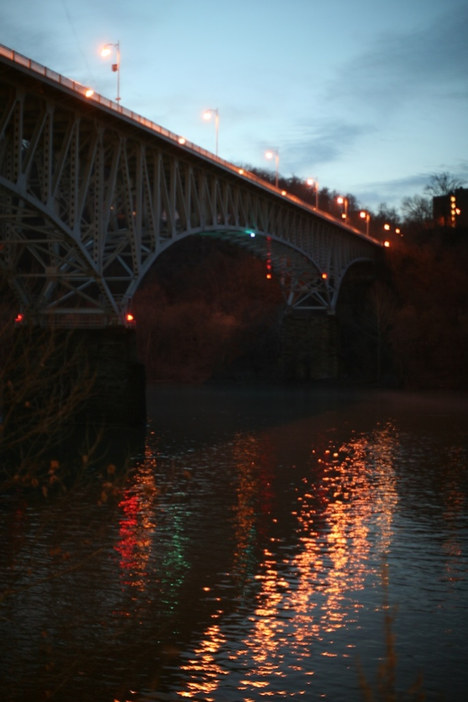 Homestead Grays Bridge Reflection