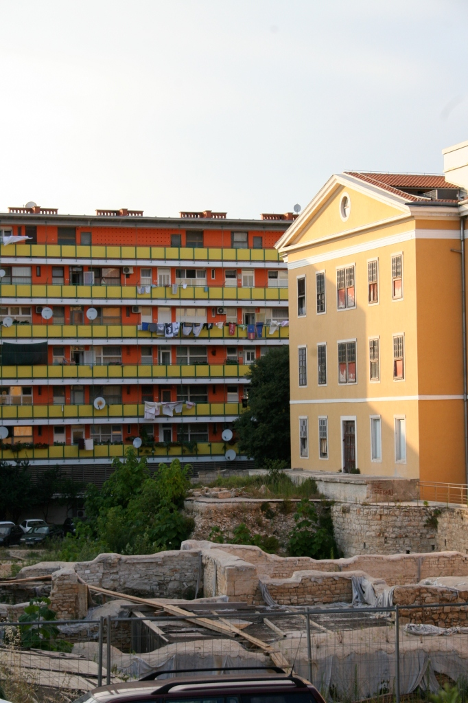 Croatian Homes and Roman Ruins