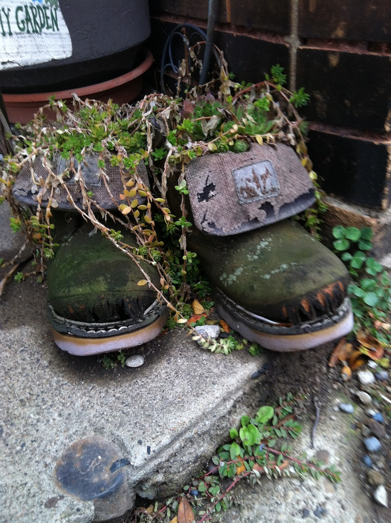Work Boots Planter