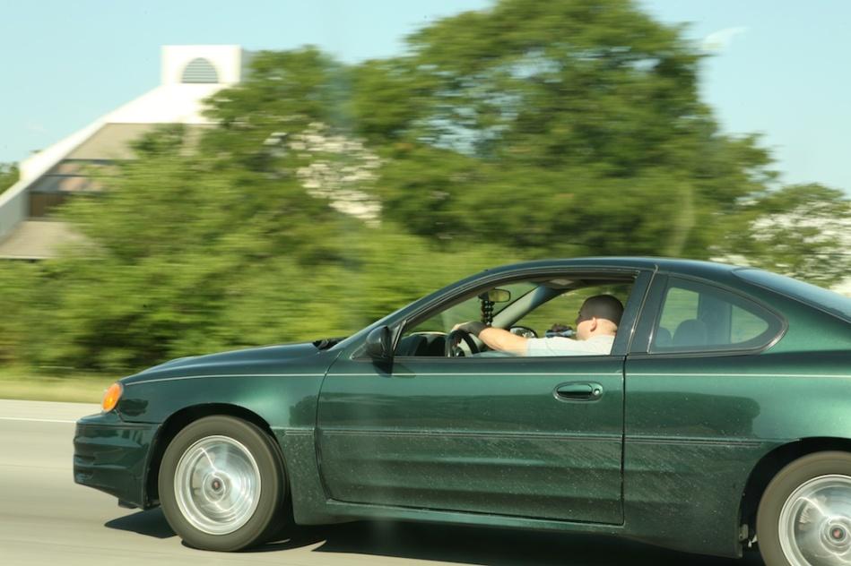Brushing Teeth while Driving