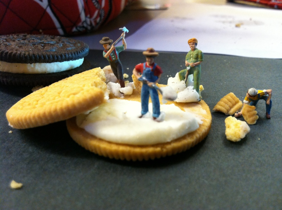 Miniature Food Scene