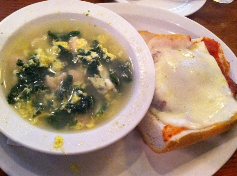 Soup and Sandwich