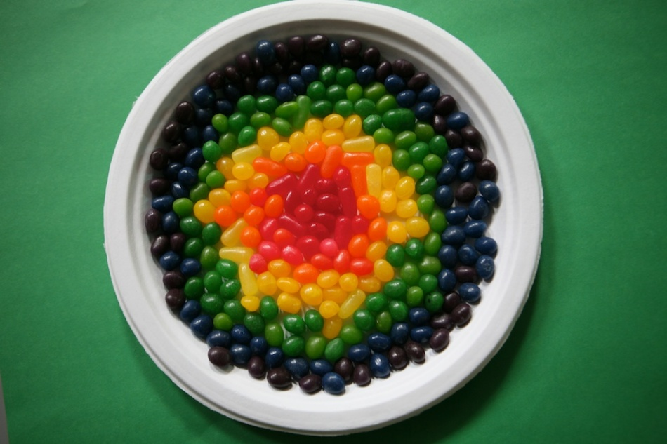jelly bean art