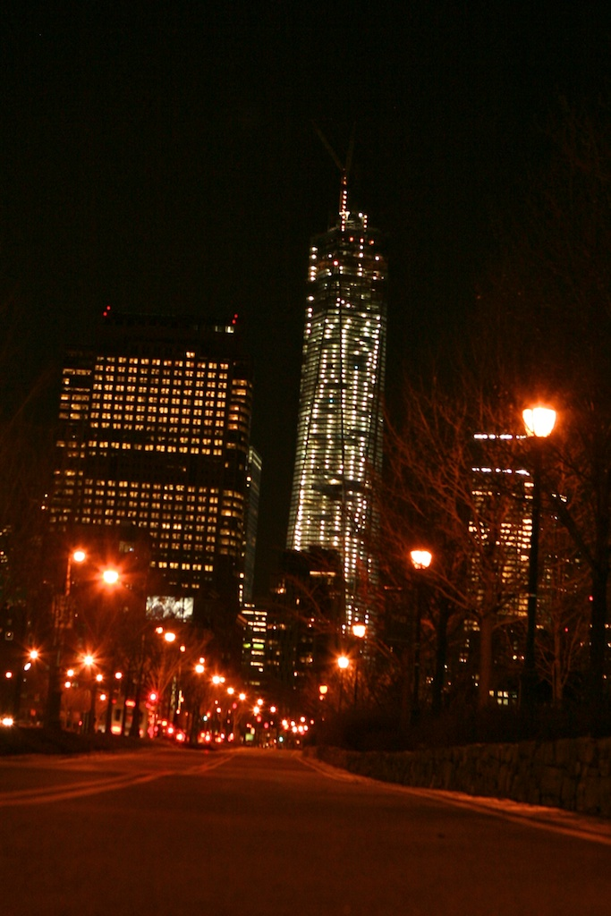 Freedom Tower Night View