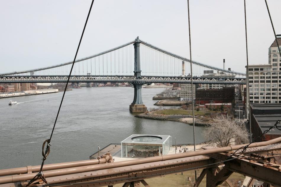 Manhattan Bridge and Jane's Carousel