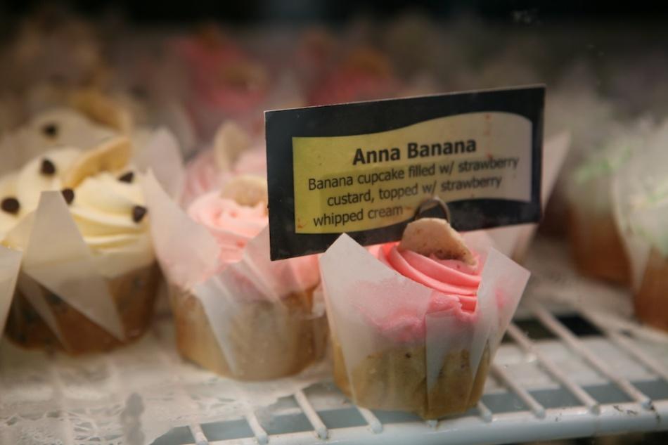 Anna Banana Cupcake