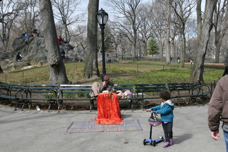Central Park Puppeteer