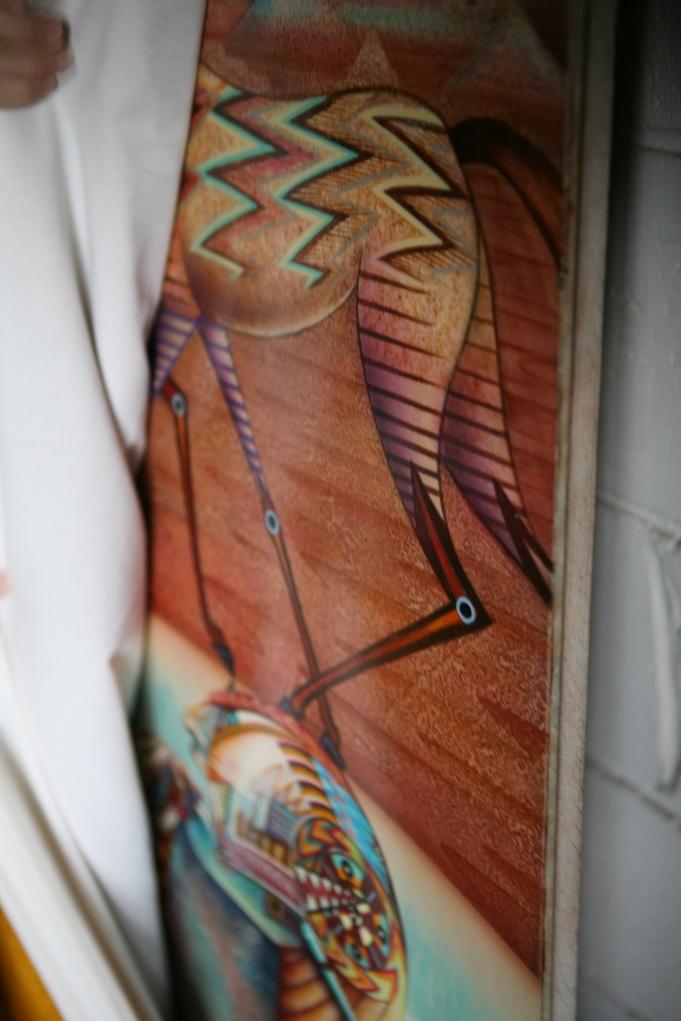 Mural in Garage