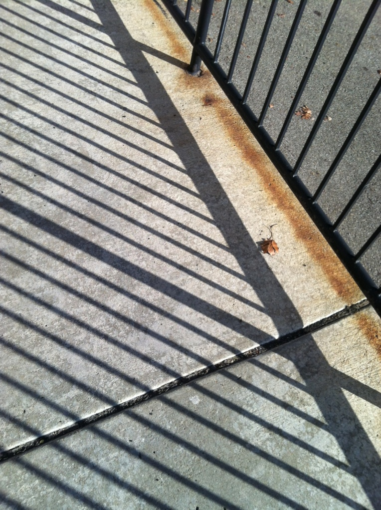 Shadows at School Entrance