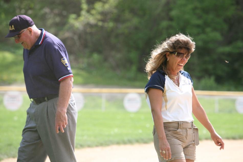 Softball coach and Umpire