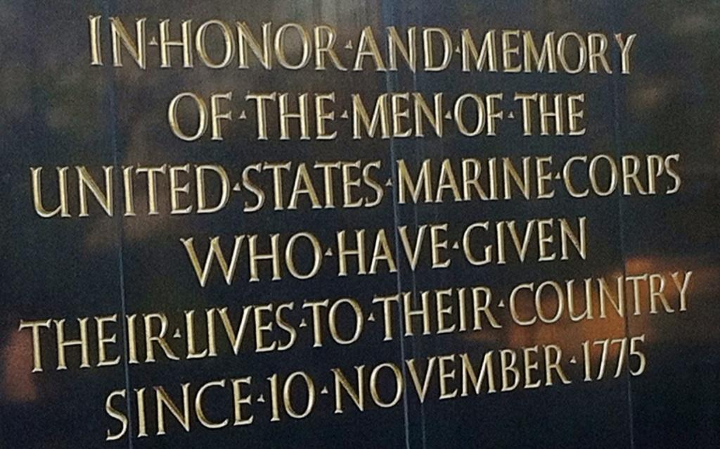 Memorial to USMC