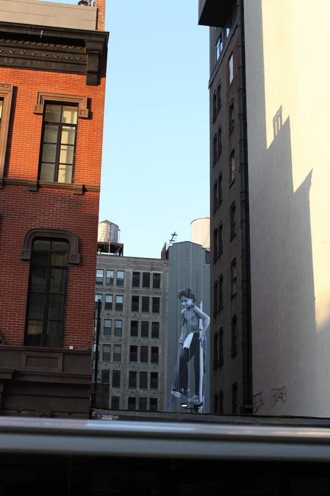 Boy on Stilts NYC