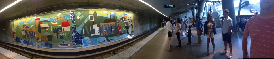 Port Authority Downtown Pittsburgh Romare Bearden Mural
