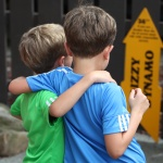 Brothers at Kennywood