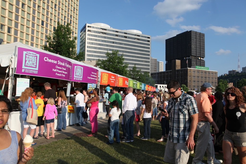 Festival Food Tents