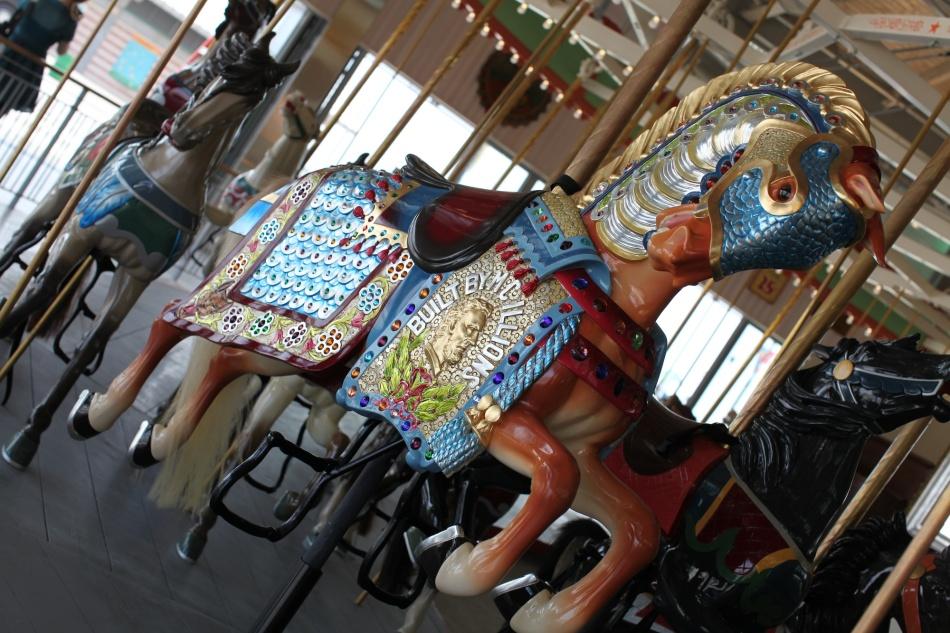 Coney Island Carousel Lead Horse