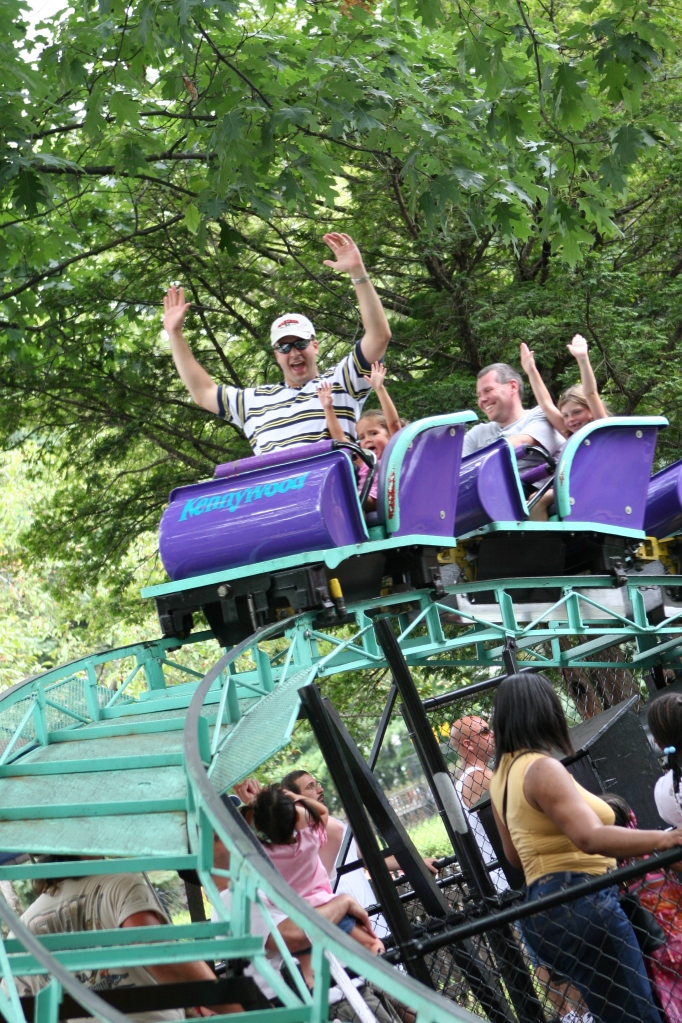 Kiddieland Roller Coaster