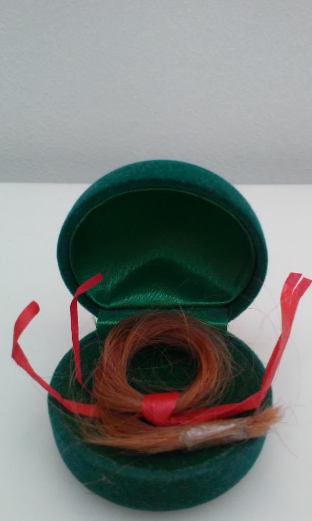 A wisp of hair