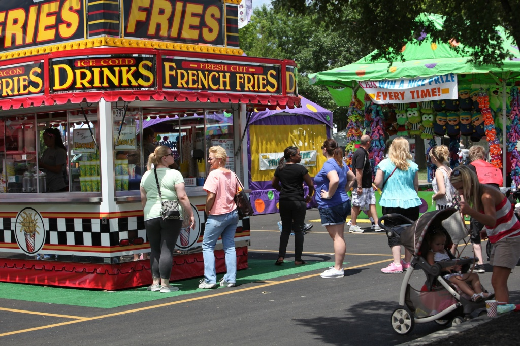 French Fries Stand